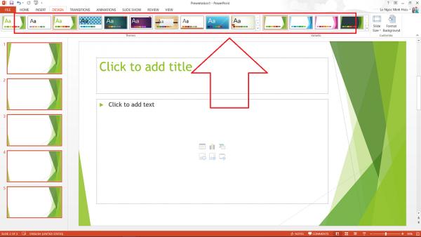 Cách chèn hình nền vào powerpoint 2010