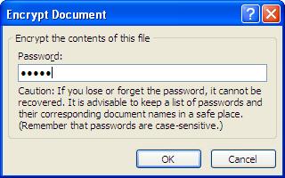 Bảo vệ tài liệu Word