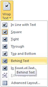 Wrap Text