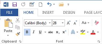 Thiết lập Font chữ chung cho văn bản
