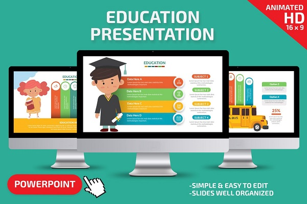 Mẫu Powerpoint Giáo Dục Presentation