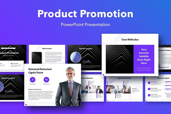 Mẫu Poweroint Marketing Product Promotion