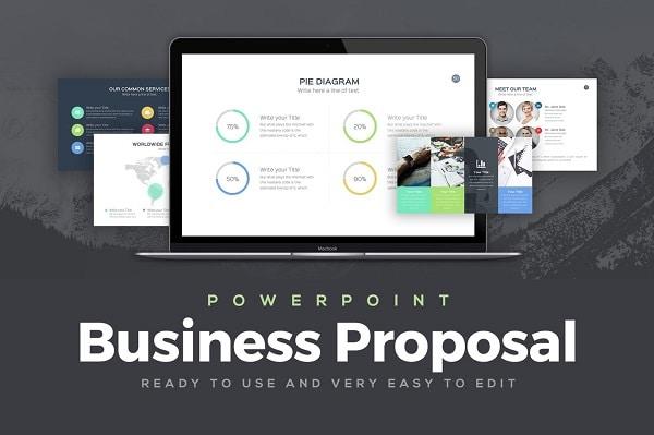Mẫu Powerpoint Doanh Nghiệp Proposal