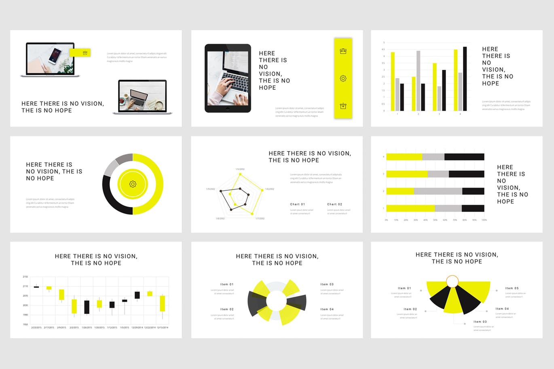Mẫu Powerpoint Marketing Technoz