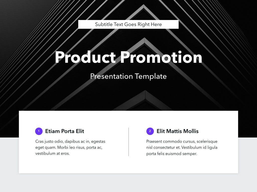 Mẫu Poweroint Marketing Product Promotion