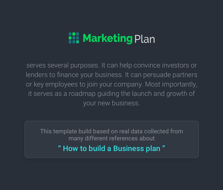 Mẫu Powerpoint Marketing Plan
