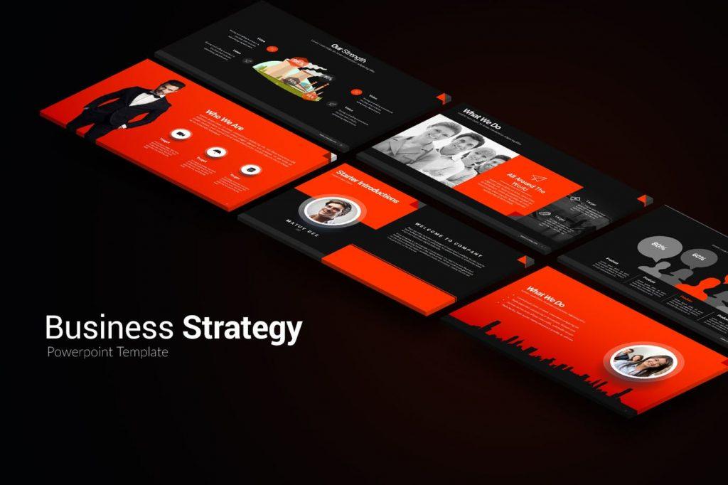 Starategy - Mẫu Powerpoint hiện đại