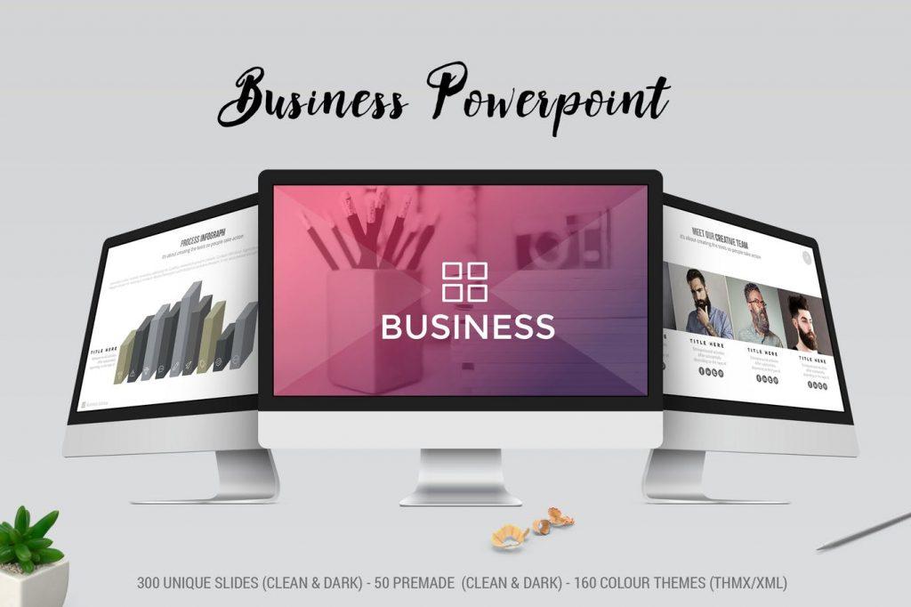 Simple - Mẫu powerpoint doanh nghiệp chuyên nghiệp