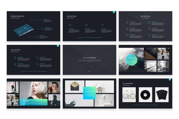 Những mẫu slide đẹp, chuyên nghiệp giúp bài thuyết trình hiệu quả