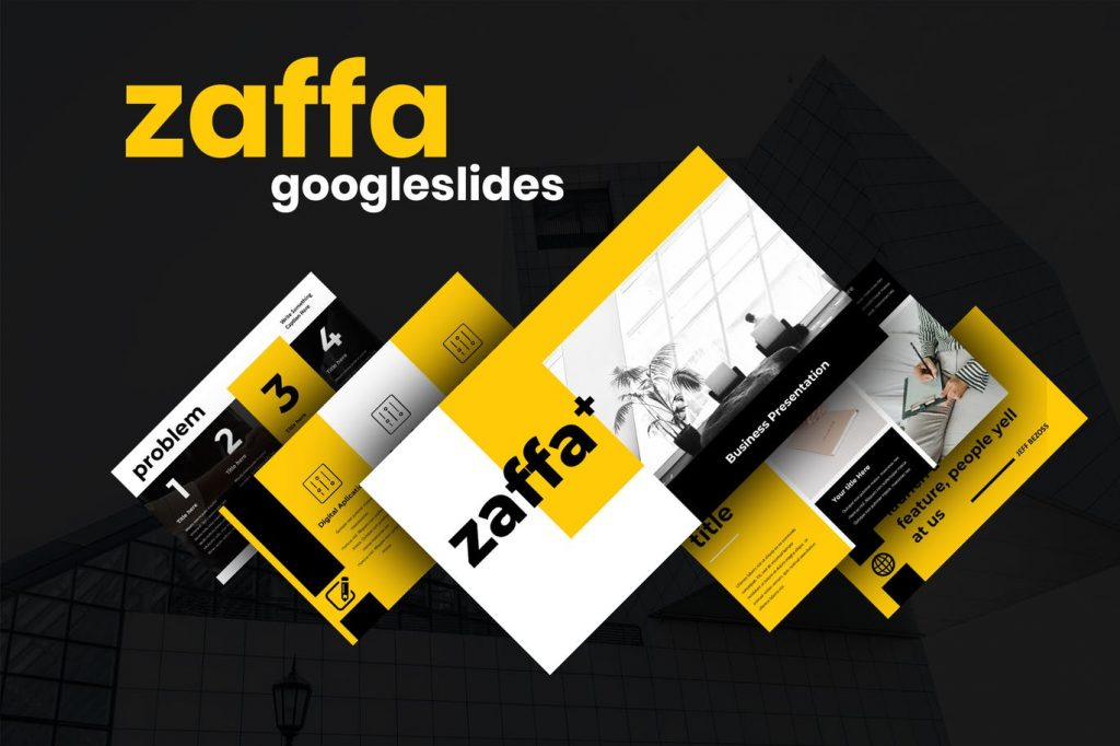 Zaffa - Mẫu powerpoint chuyên nghiệp, premium