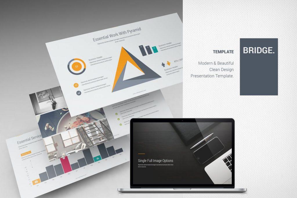 Bridge - Mẫu powerpoint doanh nghiệp sáng tạo
