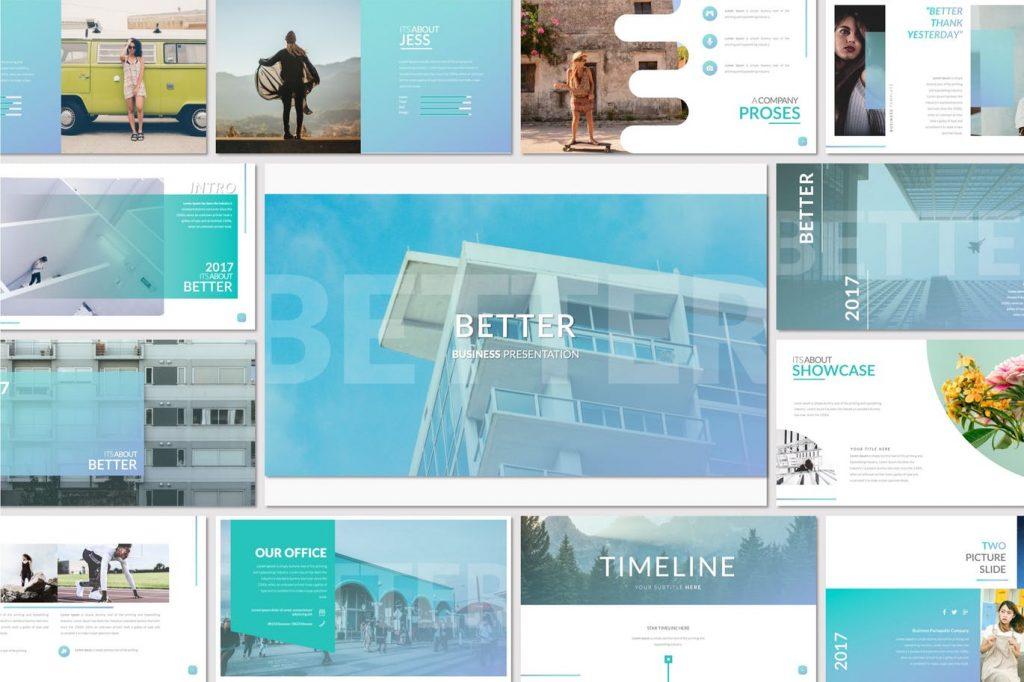 Better - Mẫu powerpoint doanh nghiệp đẹp, chuyên nghiệp