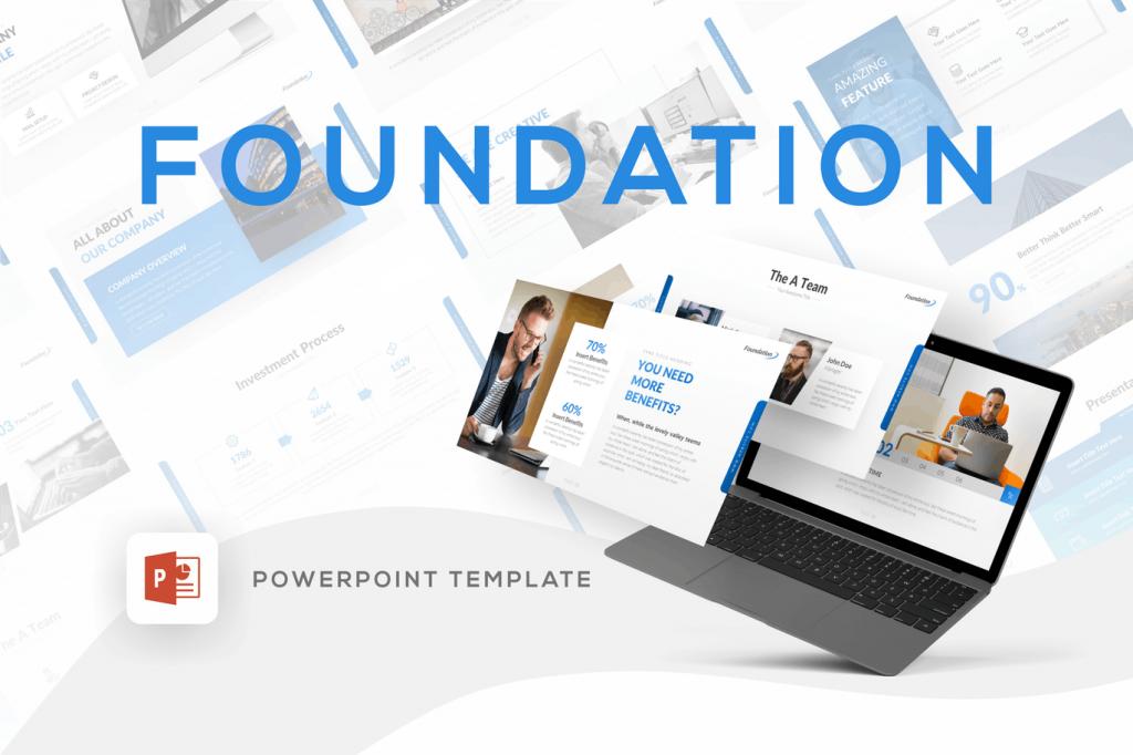 Foundation - Mẫu powerpoint chuyên nghiệp, sáng tạo
