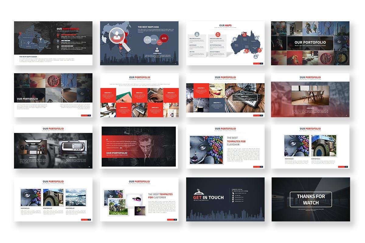 Industry - Mẫu powerpoint thiết kế trình bày tốt nhất